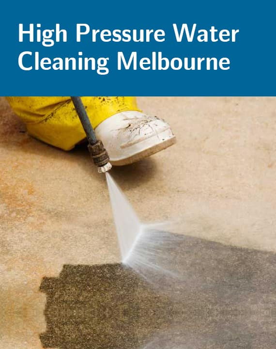 High Pressure Water Cleaning Services
