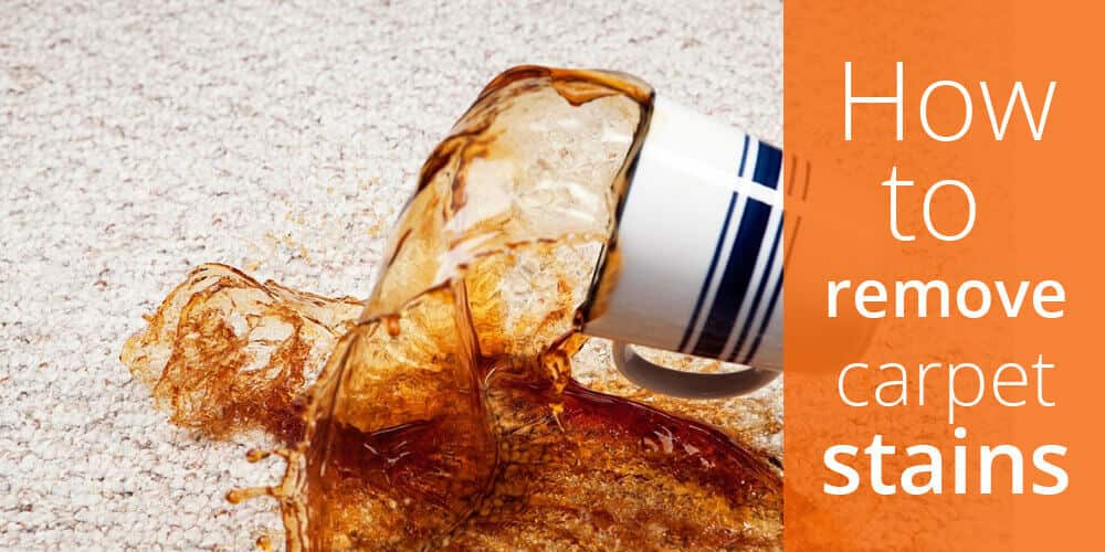 How to remove the 5 Most Common Carpet Stains