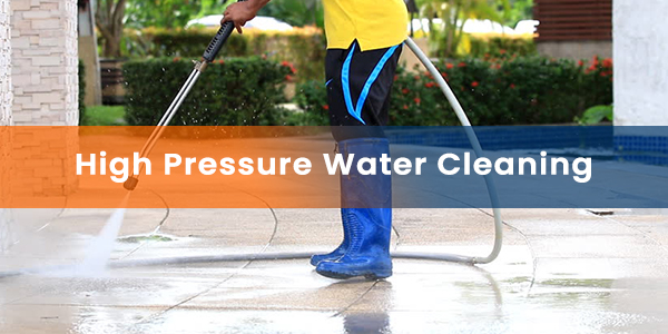 High Pressure Water Cleaning Service